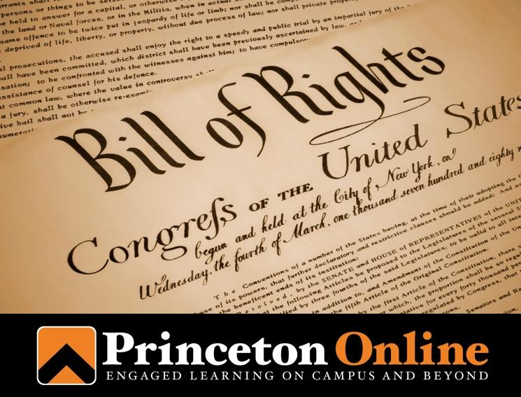 Princeton Offers Professor George's Signature Civil Liberties Course