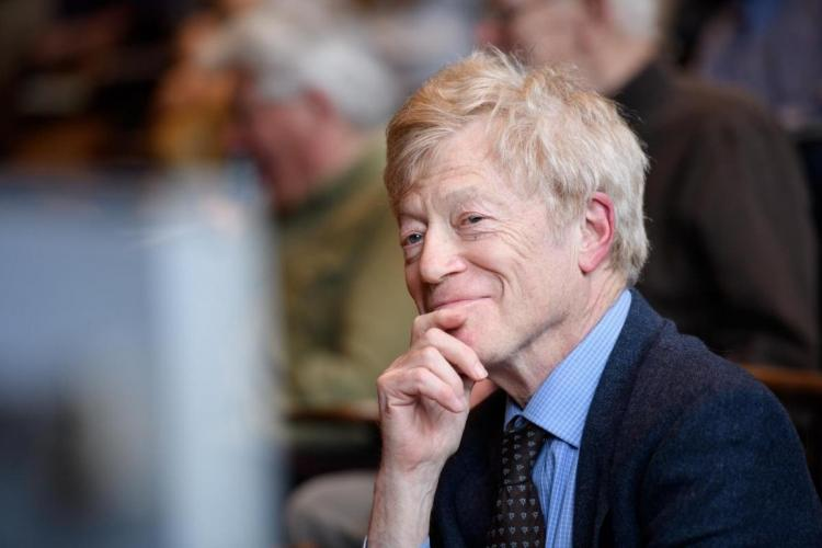 Sir Roger Scruton at the James Madison Program in 2017