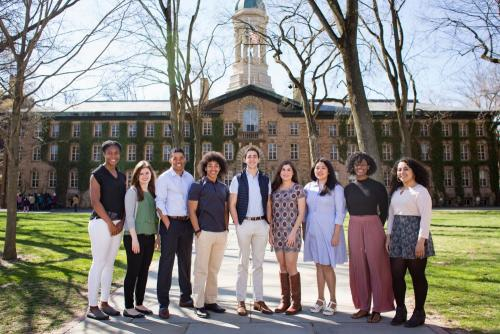 Daily Princetonian photo of award winners