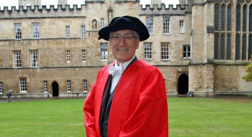 Robert George on Oxford Campus