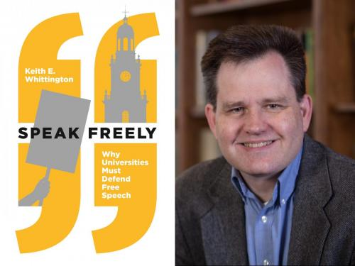 Keith Whittington and Speak Freely book cover