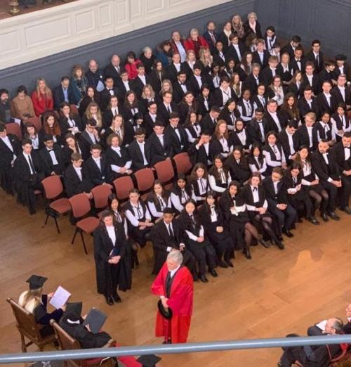 Robert P. George receives Doctor of Letters (D.Litt.) degree from Oxford University