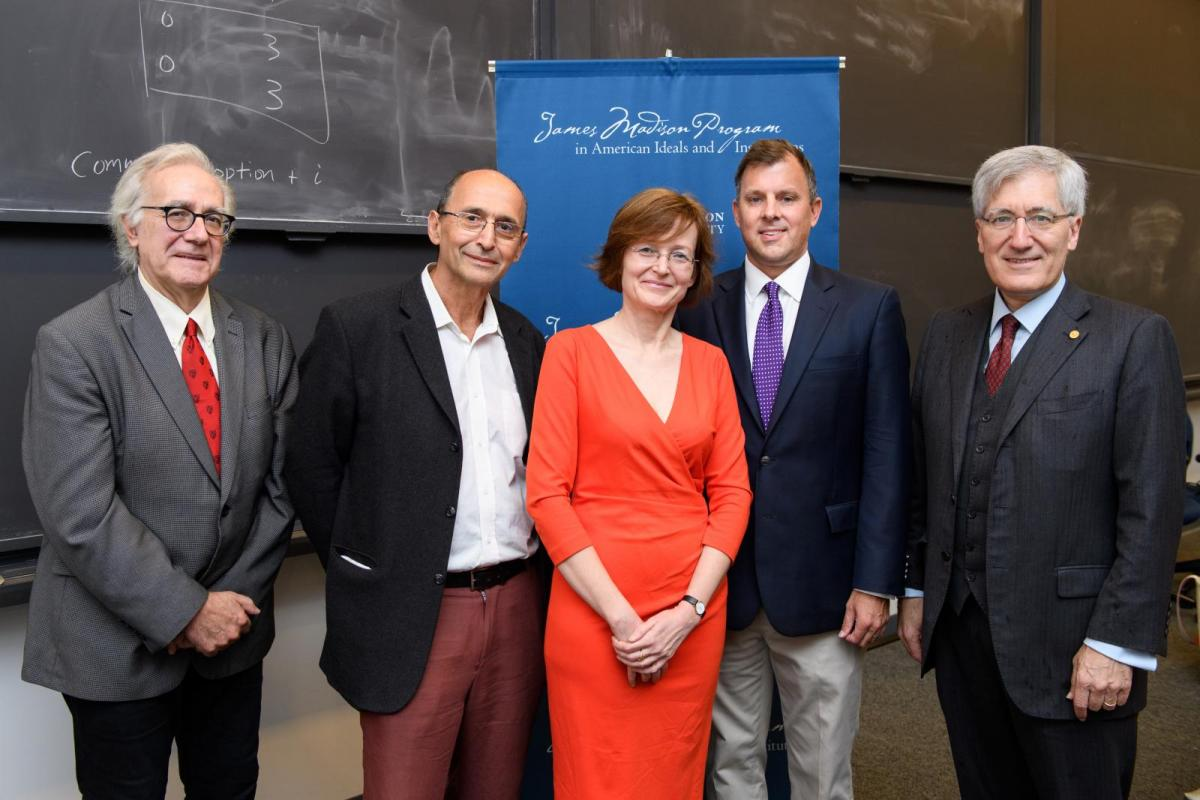 Panelists at the Consequences of an Idea event