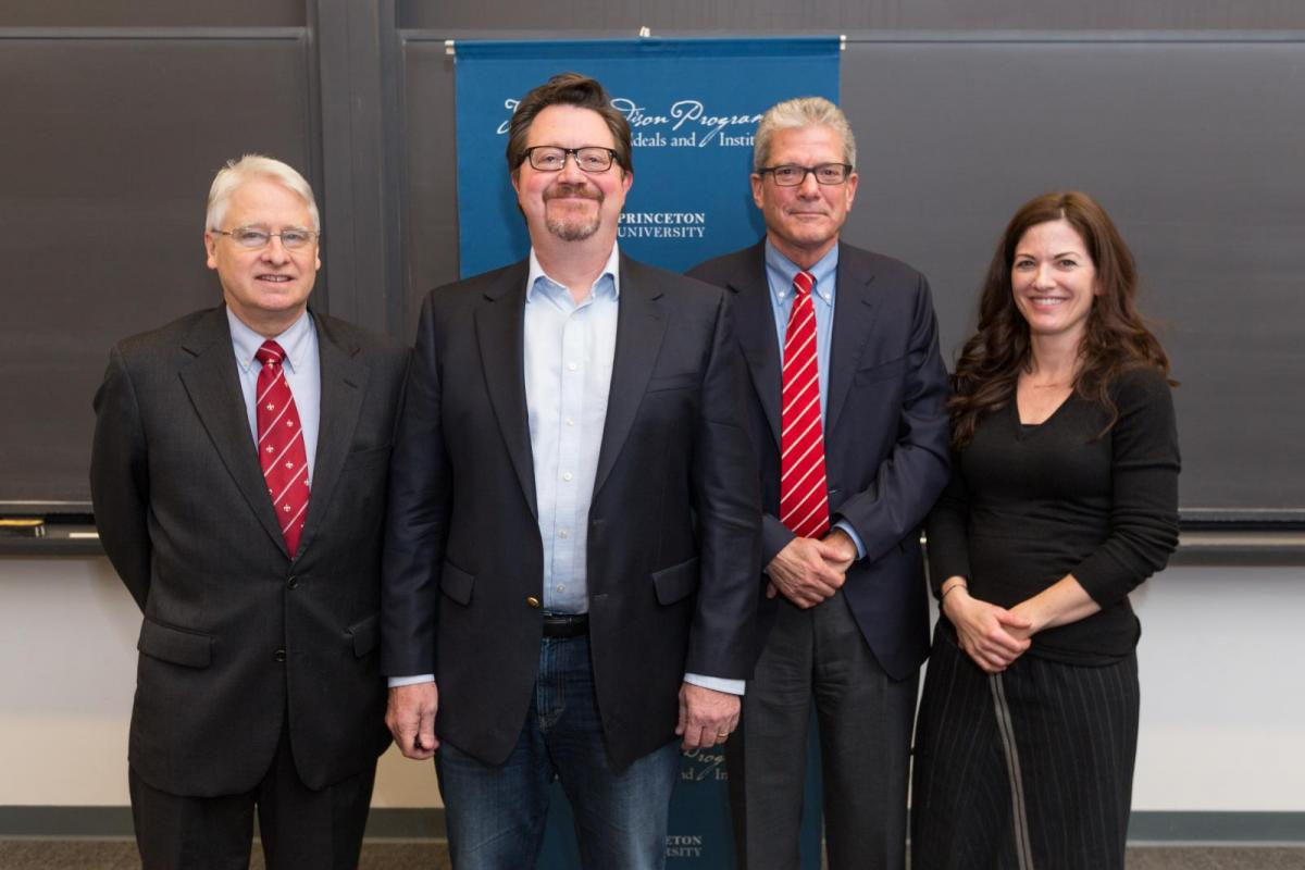 Brad Wilson, Thomas C. Leonard, William Schambra, and Christine Rosen