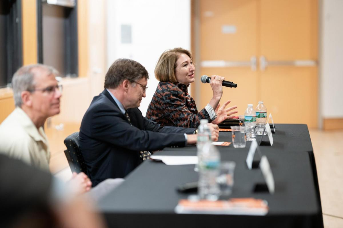Reunions panel discussion