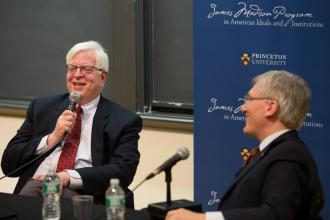 Dennis Prager and Robert P. George