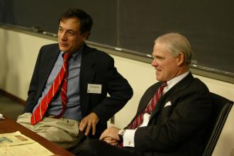 Participants in Rehnquist conference
