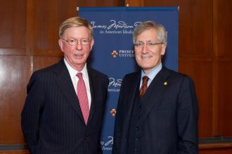 George Will and Robert P. George on Higher Education