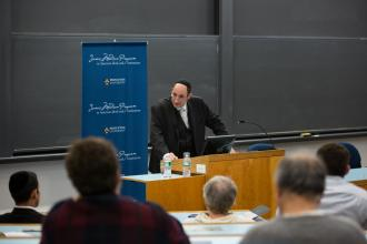 Soloveichik lecture