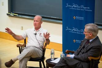 Mitch Daniels '71 and Robert P. George Reunions Event