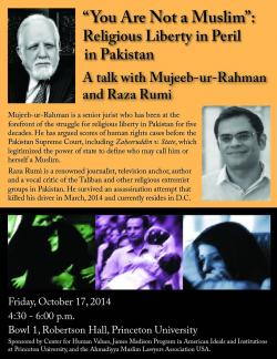 Pakistan event poster
