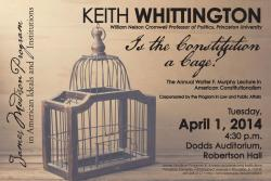 Whittington lecture poster