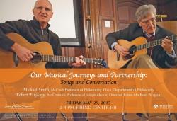 Musical Journeys event poster