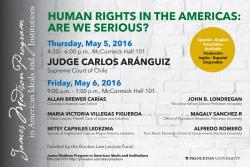 Human Rights conference poster