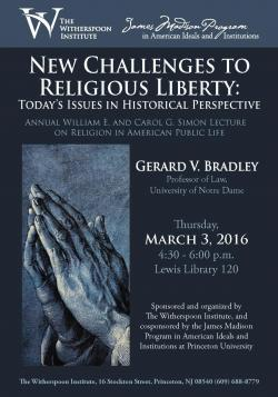 Bradley lecture poster