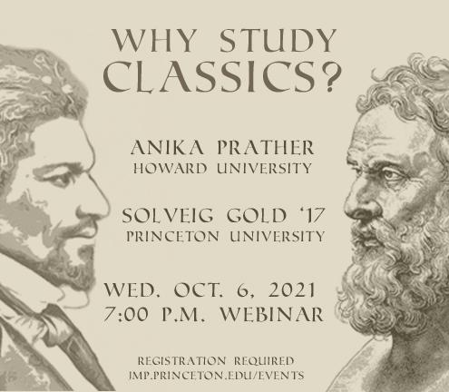 """Digital poster for """"Why Study Classics?"""""""