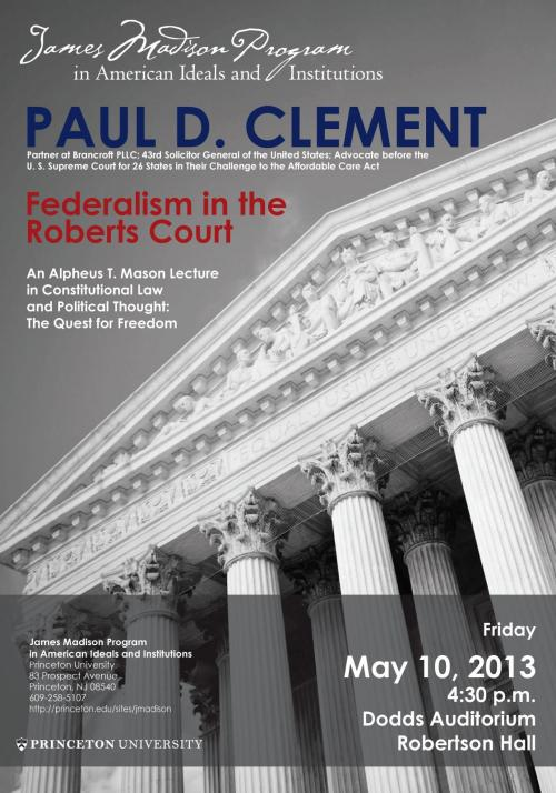Clement event poster