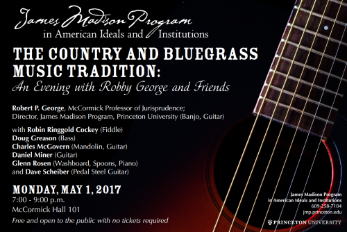 Country Bluegrass event poster