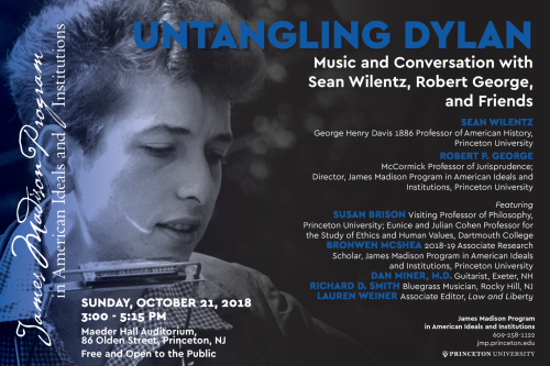 Untangling Dylan event poster