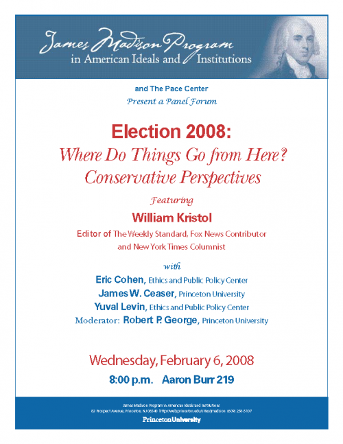 Election 2008 Poster