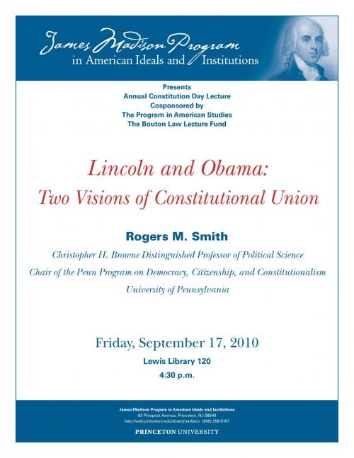 Smith Constitution Day flyer