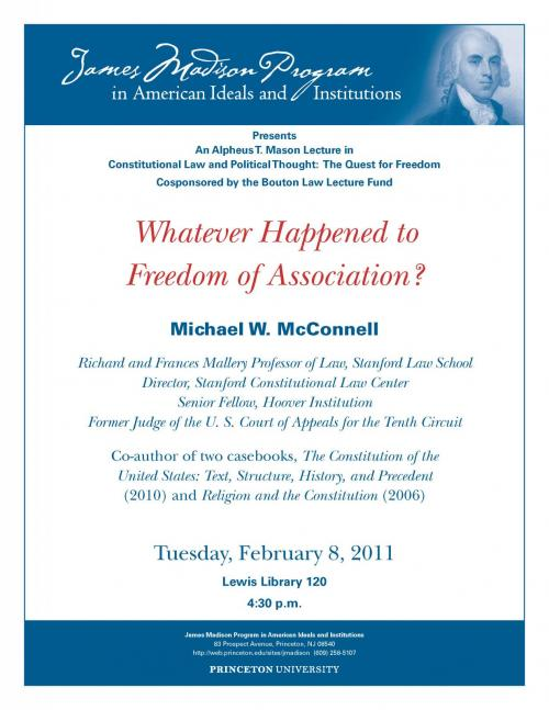 McDowell event poster