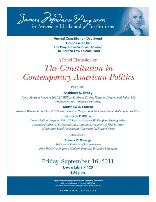 Constitution day panel poster