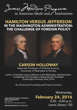 Holloway Lecture Poster