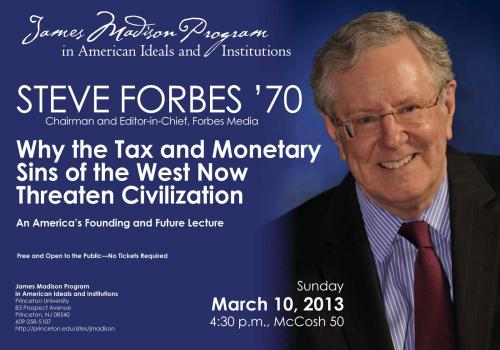 Forbes event poster