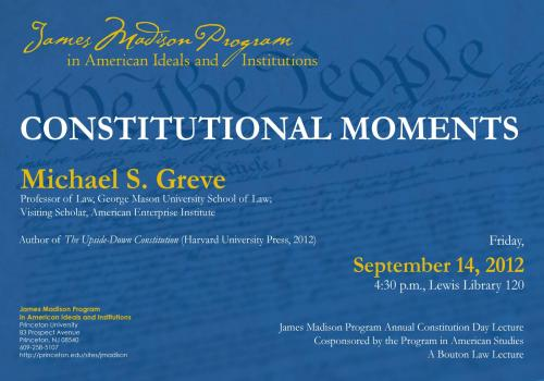 Greve event poster