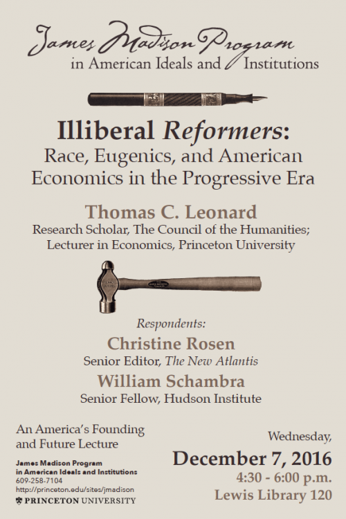 Illiberal Reformers event poster