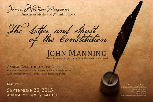 Manning event poster