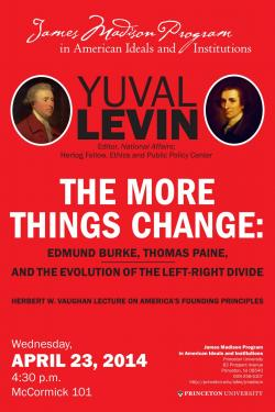 Levin event poster