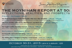 Moynihan conference poster