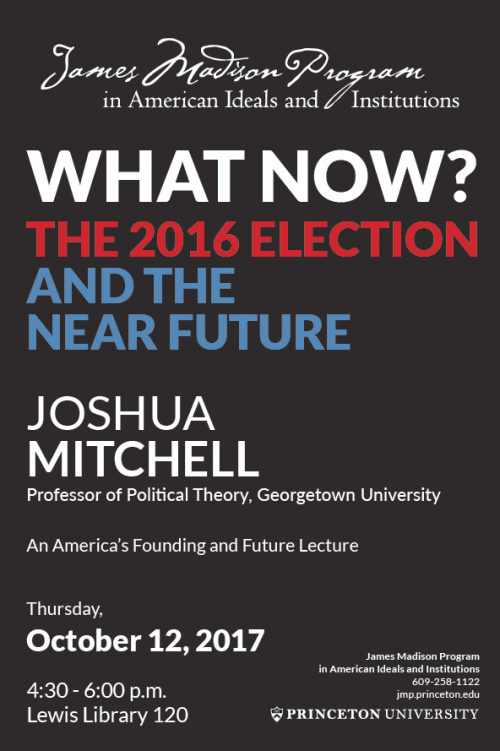 Mitchell Lecture poster