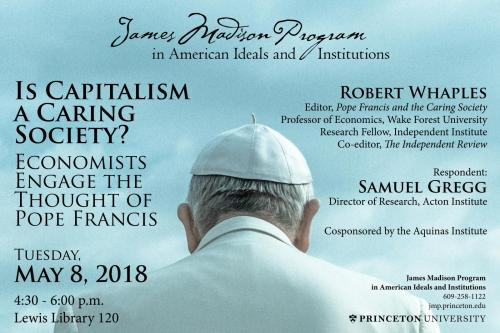 Pope Francis event poster