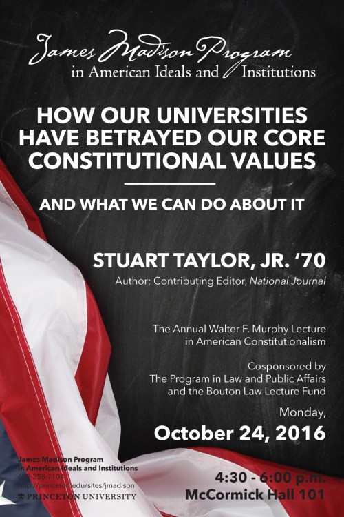Taylor Lecture Poster