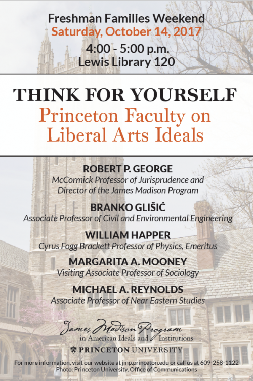 Think for Yourself Panel poster