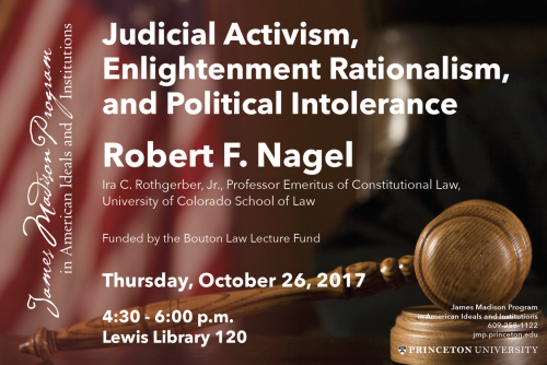 Nagel lecture poster