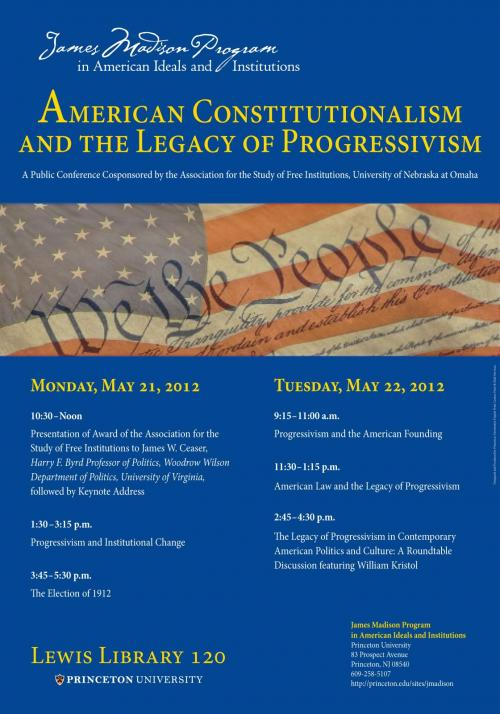 American Constitutionalism conference poster