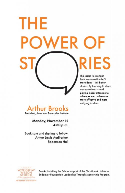 Power of stories poster