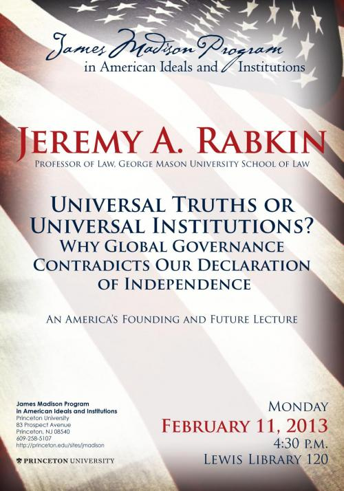 Rabkin event poster