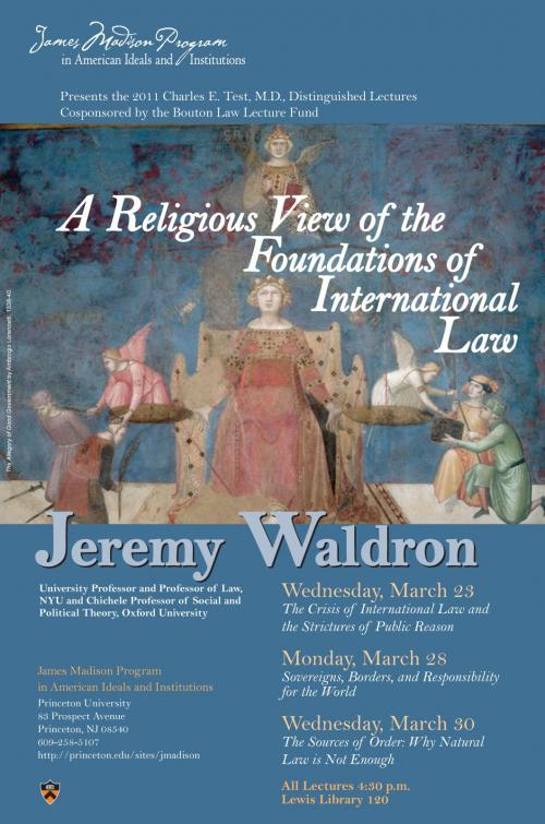 Waldron event poster