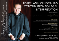 Scalia Roundtable poster