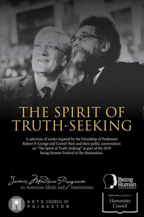Truth-seeking exhibit poster