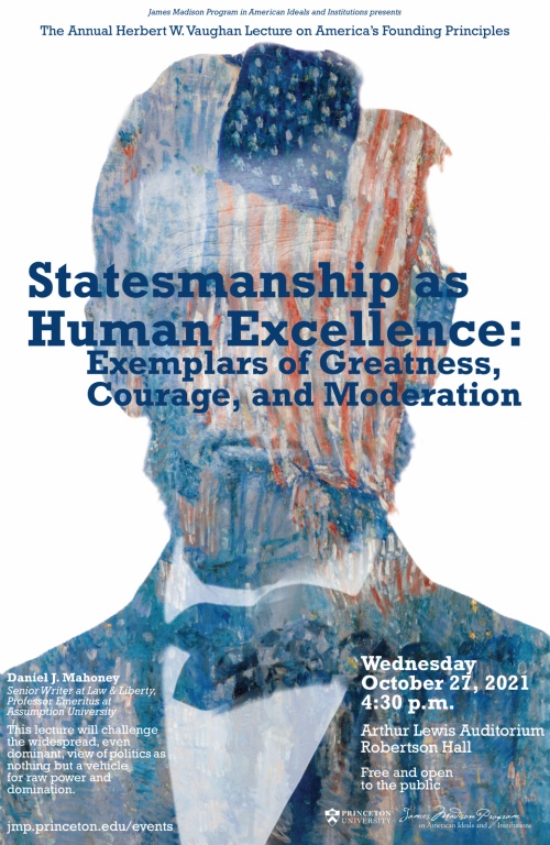 Statesmanship Lecture Poster