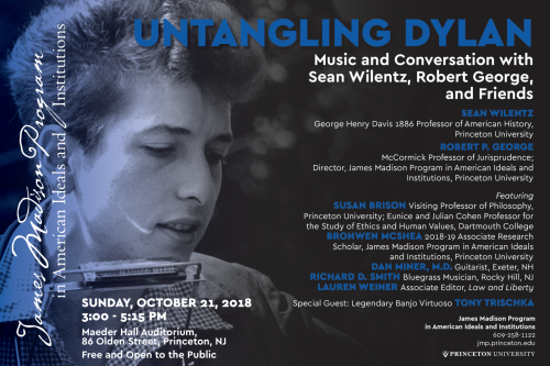 Dylan event poster