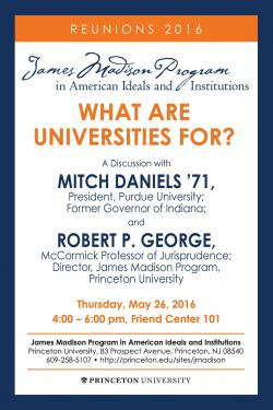 Reunions event poster