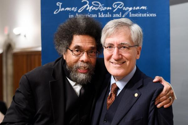 Cornel West and Robert P. George