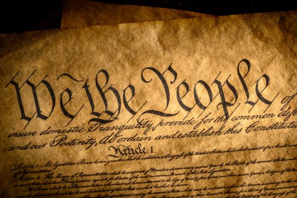 Photo of the Constitution